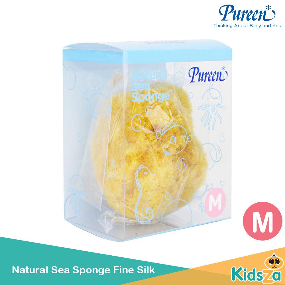 ราคา Pureen ฟองน้ำธรรมชาติ Natural Sea Sponge Fine Silk [S] ฟองน้ำธรรมชาติ Pureen Natural Sea Sponge Fine Silk