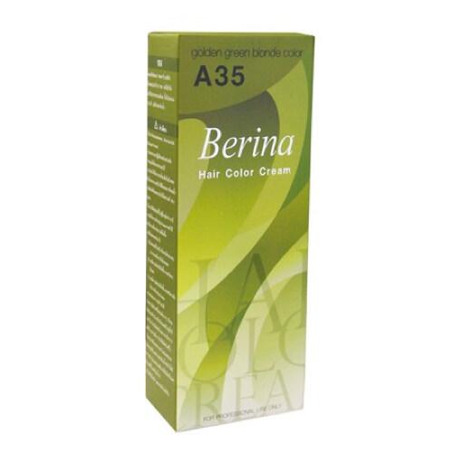 Berina - A35 สีบลอนด์ทองประกายเขียว Golden Green Blonde Color W.200 รหัส.h237.