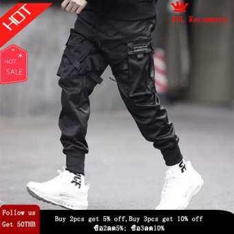 SIM ผู้ชาย Harem Hip กางเกงป๊อปกางเกง Streetwear Sweatpants Hombre ชายกางเกงสินค้าแฟชั่นผู้ชาย-