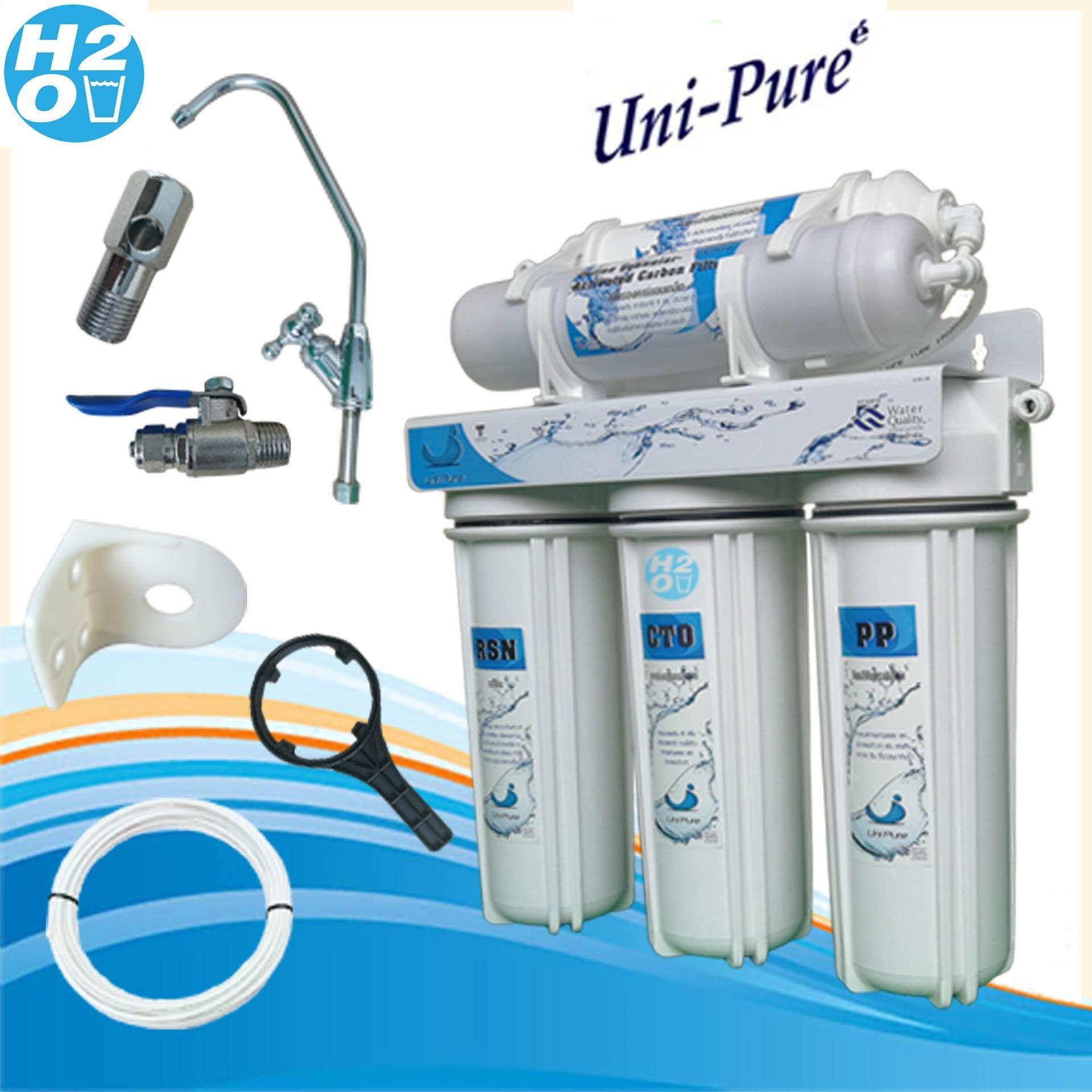 Uni Pure เครื่องกรองน้ำ มาตราฐาน 5 ขั้นตอน