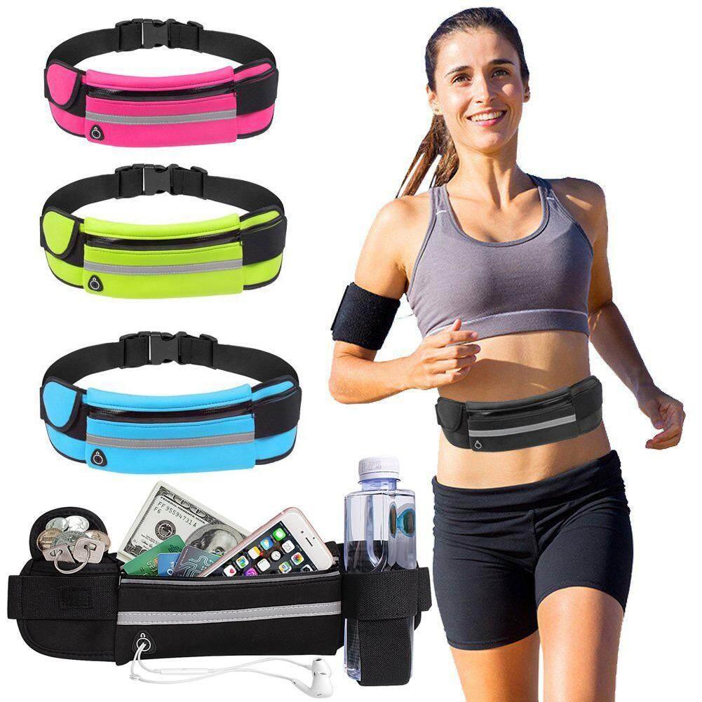 Triniso กระเป๋าอเนกประสงค์ กระเป๋าคาดเอวใส่วิ่งออกกำลังกาย พร้อมส่ง Jogging Running Fitness Gym Waist Bag - Kd 761 By Triniso Shop.