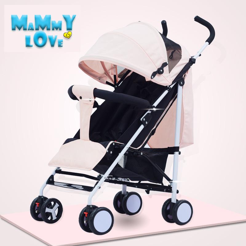 รีวิว Mammy love Baby gear Strollers Prams รถเข็นเด็ก น้ำหนักเบา พกพาสะดวก นั่งได้นอนได้ สามารถแกะพับได้ รถเข็นของเด็กทารก
