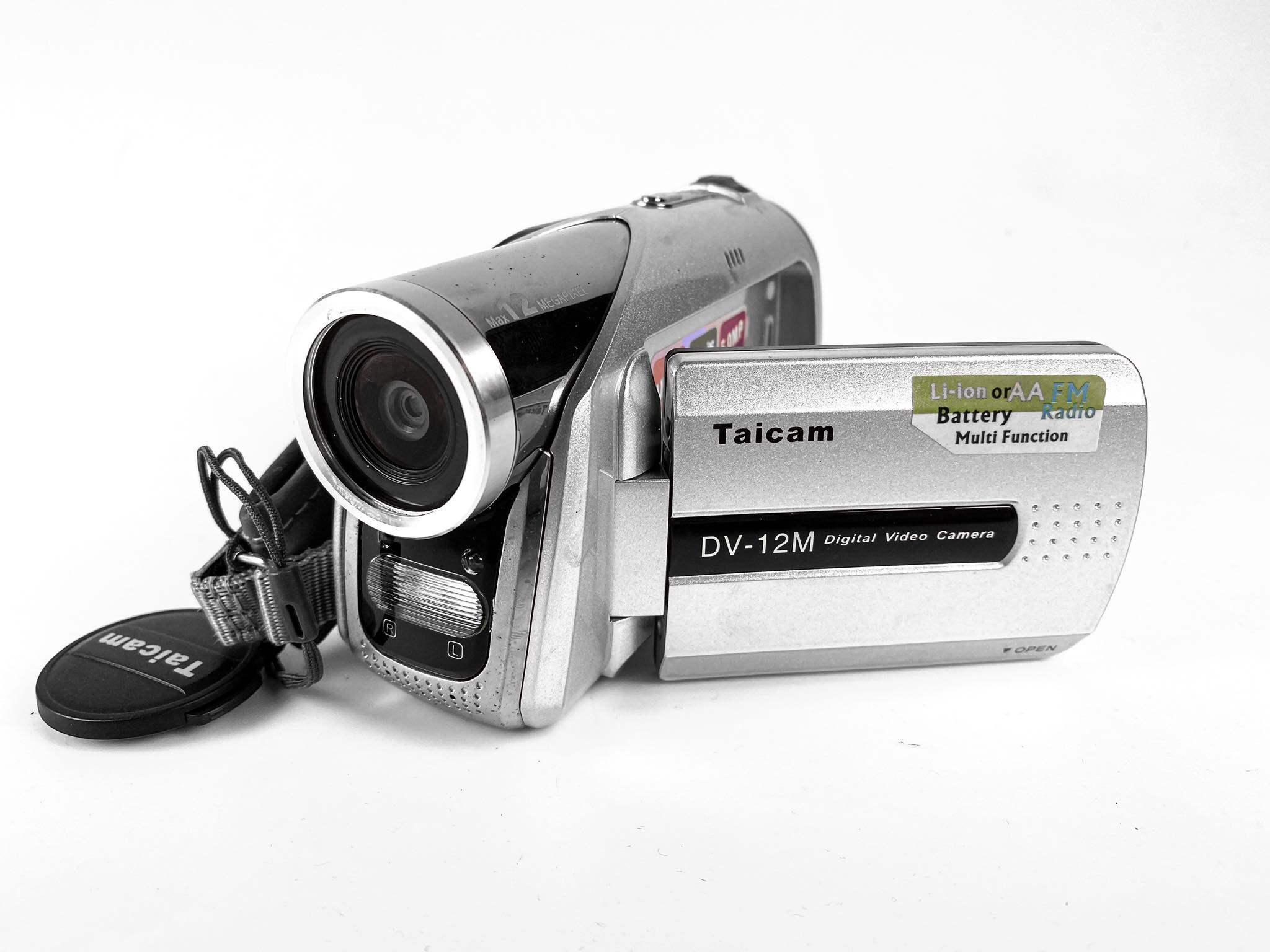 กล้อง Taicam Digital Video Camera รุ่น Dv-12m สุดยอด Digital Video Camera ที่ไม่ธรรมดา ที่สุดแห่งความสามารถ...