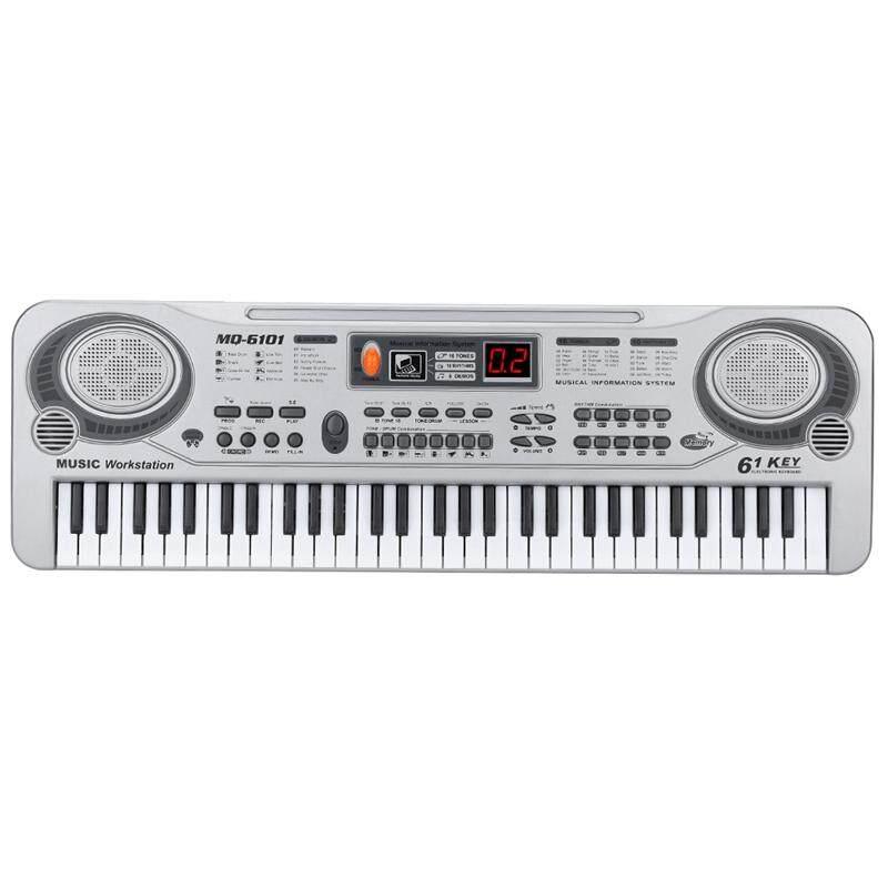 61-Key Keyboard Piano Piano Led Instrument Keyboard 21-Inch Music Education Double-Row Electronic Piano Children Beginner Electronic Keyboard Piano Us Plug