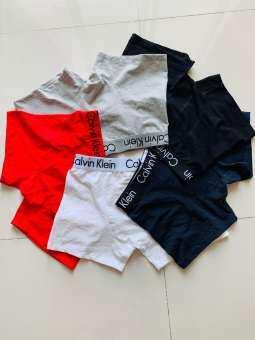 CKกางเกงชั้นในชาย (มี3ตัว) ผ้าเย็นๆผ้านิ่มๆการันตีใส่สบาย  LUCKY  SHOP 005(M-3XL)