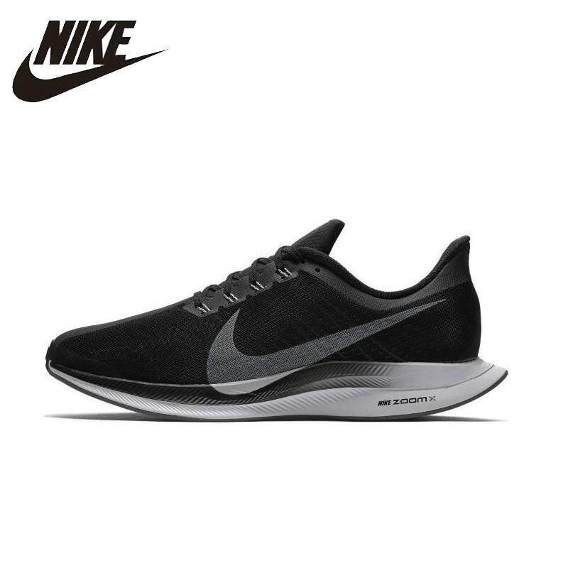 Nike_Zoom Pegasus 35 Turbo 2.0 Men's running shoes women's skate shoes Unisex sneakers Nike_shoes breathable black