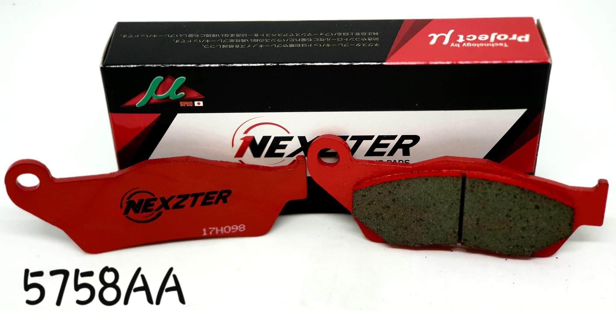 ผ้าเบรคnexzterหลัง Bmw S1000xr Ducati New Multistrada (y15) 1200 Dvt By Nexzter Brake.