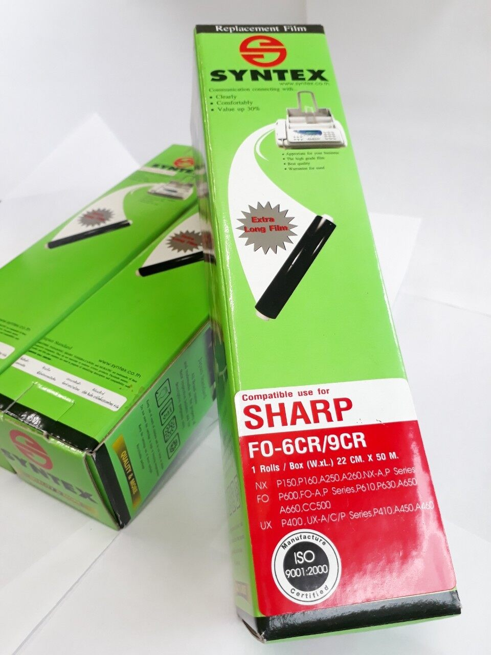 Film Fax Sharp Fo-6-Cr/9cr 1ม้วน/กล่อง.