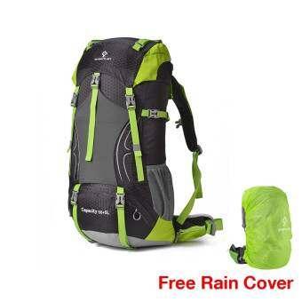 Eighty Eight Greenlan Backpack กระเป๋าเป้สะพายหลัง ความจุ 50 ลิตร GL01 - (Black)  // แถมฟรี Rain Cover