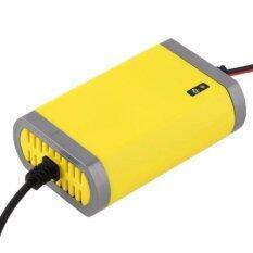 ซื้อ เครื่องชาร์จแบตเตอรี่รถยนตร์สำหรับพกพา สีเหลือง ใหม่ล่าสุด