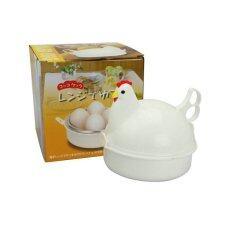โปรโมชั่น เครื่องต้มไข่รูปแม่ไก่ไมโครเวฟ ทํา ไข่ออนเซ็น ไมโครเวฟ สีขาว ถูก