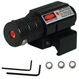 เลเซอร์ติดปืน Fancytoy 11MM Tactical Red Laser Beam Dot Sight for Gun Rifle Pistol Picatinny Mount