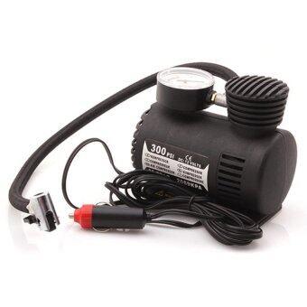 Elit Portable Car/Auto 12V 300PSI Mini Air Compressor Electric Tire Inflator Pump
