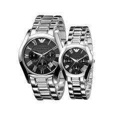 ซื้อ Emporio Armani Couple Watch Armani Ar0673 Ar0674 Emporio Armani