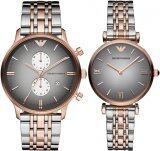 ขาย ซื้อ ออนไลน์ Emporio Armani Couple Watch Armani Ar1721 Ar1725
