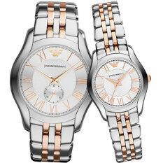 ทบทวน Emporio Armani Couple Watch Armani Ar1824 Ar1825 Emporio Armani