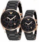 ราคา Emporio Armani Couple Watch Armani Ar5905 Ar5906 ใหม่