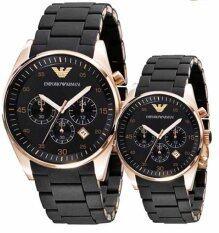 ราคา Emporio Armani Couple Watch Armani Ar5905 Ar5906