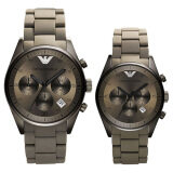 ซื้อ Emporio Armani Couple Watch Armani Ar5950 Ar5951 ออนไลน์