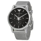 Emporio Armani Men S Ar1811 Classic Analog Display Analog Quartz Silver Tone Watch เป็นต้นฉบับ