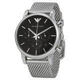 ทบทวน Emporio Armani Men S Ar1811 Classic Analog Display Analog Quartz Silver Tone Watch