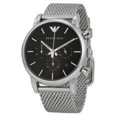 Emporio Armani Men S Ar1811 Classic Analog Display Analog Quartz Silver Tone Watch กรุงเทพมหานคร