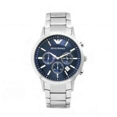 ส่วนลด สินค้า Emporio Armani Men S Ar2448 Stainless Steel Classic Blue Dial Watch