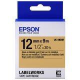 ซื้อ Epson เทปเครื่องพิมพ์ฉลาก Epson Labelworks Lk 4Kbm 12 Mm อักษรดำบนพื้นโลหะทอง 9M ถูก ใน กรุงเทพมหานคร