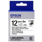 ซื้อ Epson เทปเครื่องพิมพ์ฉลาก Epson Labelworks Lk 4Wbq 12 Mm อักษรดำบนพื้นขาว สำหรับรีดติดบนผ้า 5M Epson เป็นต้นฉบับ