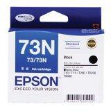 ซื้อ Epson Ink 73N รุ่น T105190 For Epson T10 11 20E Tx100 110 111 200 210 400 550W T30 40W Tx Black Epson ถูก