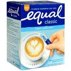 ขาย Equal อิควลชนิดผง ให้ความหวานแทนน้ำตาล 100ซอง 1 กล่อง Equal ใน กรุงเทพมหานคร