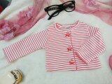 ราคา เสื้อคลุม เด็กหญิงวัย 3เดือน ขาวลายแดง ใหม่