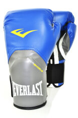 Everlast Pro Style Elite Training Gloves 12Oz (Blue)