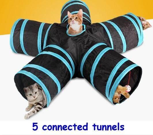 อุโมงค์ 5 ทาง อุโมงค์แมว อุโมงค์ปลาหมึก ของเล่นแมว อุปกรณ์สัตว์เลี้ยง อุปกรณ์เเมว ของเล่นน้องแมว พับเก็บได้  อุโมงแมว ของใช้แมว อุปกรณ์การเลี้ยงแมว ของเล่นลูกแมว ของเล่นสัตว์ ของเล่นสัตว์เลี้ยง อุปกรณ์สำหรับแมว.
