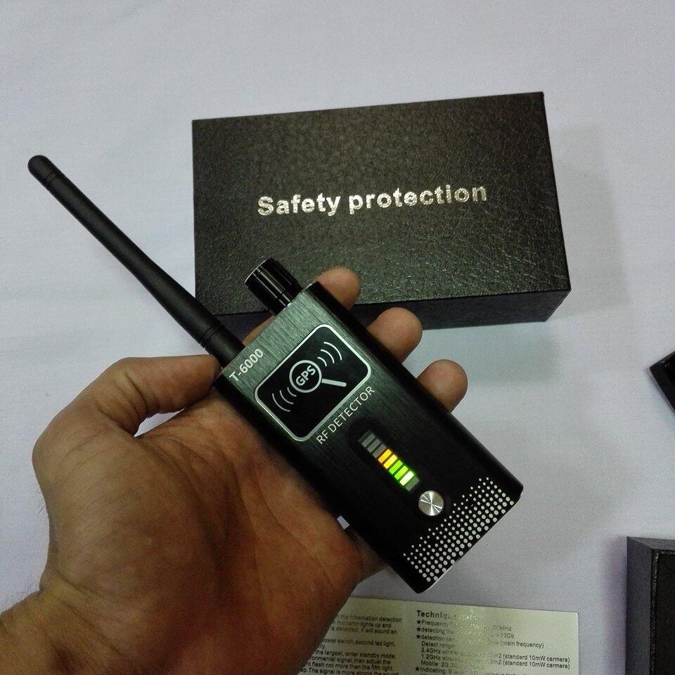 T6000 เครื่องตรวจจับ กล้องแอบถ่าย เครื่องดักฟัง Gps.