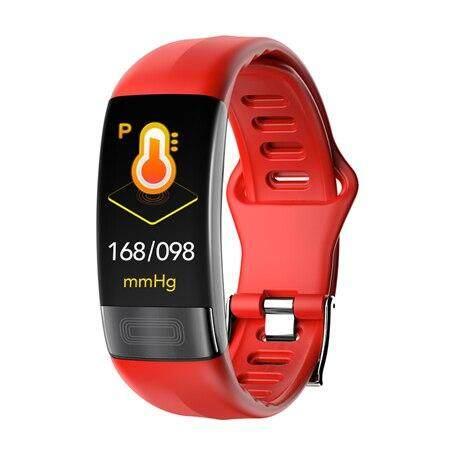 Fitness Trackers P11 Smart Bracelet Sport Smart Watch Men Women Smartwatch Ecg Bluetooth Wristband Hr Call Message Reminder Band.