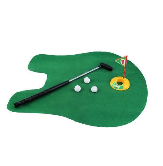 Wc-Golf ตีกอล์ฟ เกมตีกอล์ฟ ตีกอล์ฟในห้องน้ำ อุปกรณ์ครบครัน By Smdit.