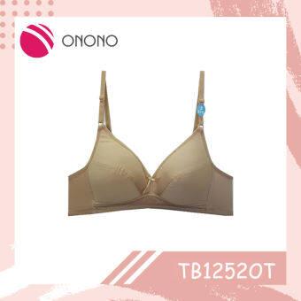 Onono เสื้อชั้นใน โอโนโน่ แบบไร้โครง ฟองน้ำบาง-รุ่นTB1252