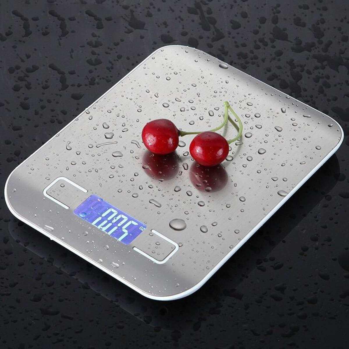 หม่ ! เครื่องชั่งดิจิตอล สูงสุด 5 กิโลกรัม Kitchen Scale Digital Scale เครื่องชั่งในครัว เครื่องชั่งอาหาร เครื่องชั่งขนม ตาชั่งดิจิตอล แบบพกพา เครื่องชั่ง ตาชั่ง ที่ชั่งอาหาร ตราชั่งดิจิตอล + แถมถ่าน.