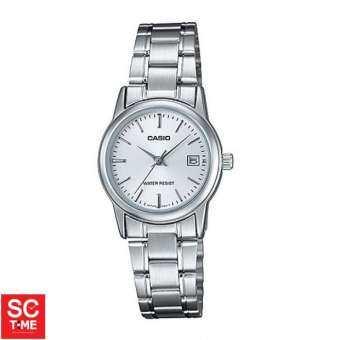 SC Time Online Casio Standard หญิง LTP-V002D-7AUDF (สินค้าใหม่ ของแท้ มีใบรับประกัน)  Sctimeonline-
