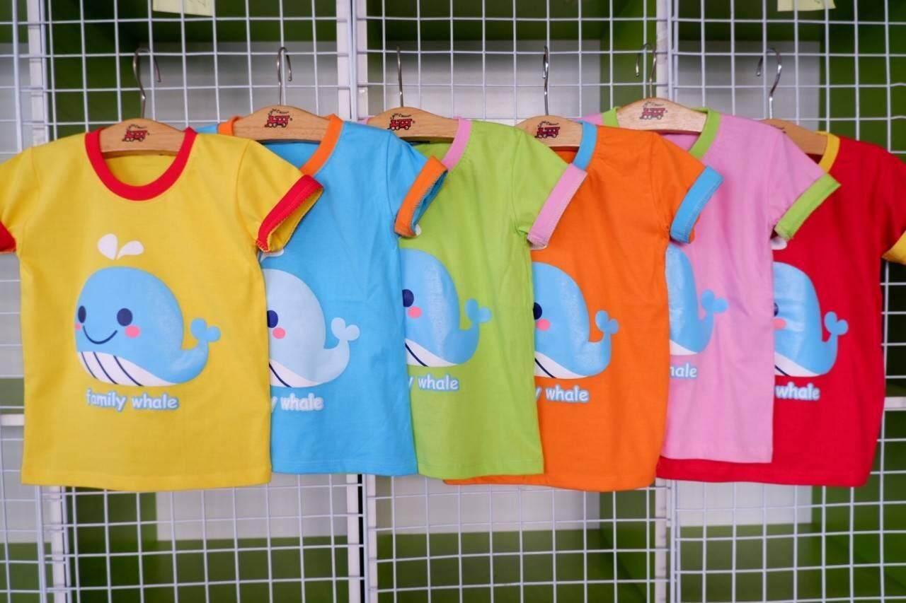 เสื้อยืดเด็ก-ลายการ์ตูนน่ารักๆๆ -ร้านจัดคละสี-มีขนาด S-M-L-XL (1ชิ้น)