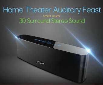 IP SHOP ลำโพงบลูทูธแบบพกพา 3D Surround Bass Stereo Wireless Bluetooth Speaker 12W Touch Control Wireless Subwoofer : Zealot S12-