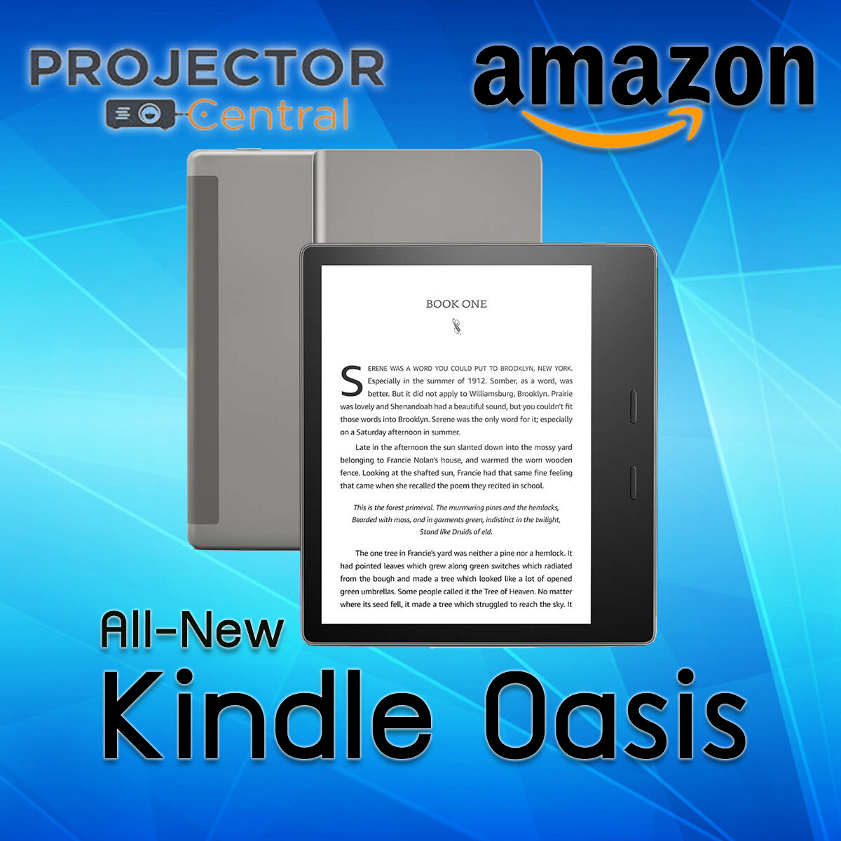 All-New Kindle Oasis E-Reader - 7  High-Resolution Display (300 Ppi), Waterproof, Built-In Audible, 32 Gb, Wi-Fi - Includes Special Offers.