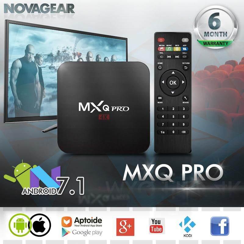 กล่องแอนดรอยด์ Mxq Pro รุ่นใหม่ แอนดรอยด์ 7.1 แรม 1g รอม 8gb, เชื่อมต่อไวไฟ/แลน, เข้าเว็บ ดูหนัง ดูฟรีทีวีออนไลน์ โหลดแอพฟรีที่ Play Store, รองรับเล่นเกมผ่านแอพ ฟังเพลง ยูทูป และอื่นๆอีกมากมาย ใช้งานง่าย สามารถเชื่อมต่อเม้าส์ คีย์บอร์ดผ่าน Usb.