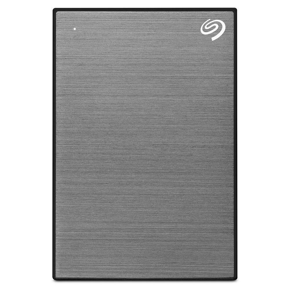 Seagate New Backup Plus Slim 1 Tb Usb 3.0 - Gray (sthn1000405) ( ฮาร์ดดิสภายนอก , Hdd , เอ็กซ์เทอร์นัลฮาร์ดดิสก์ , Harddrive ).