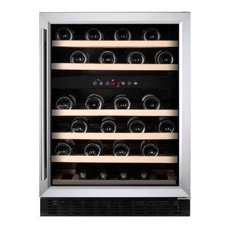 Temptech ตู้แช่ไวน์ รุ่น Classic Vwcr46ds82 – สีเงิน บรรจุ 46 ขวด By Temptech.