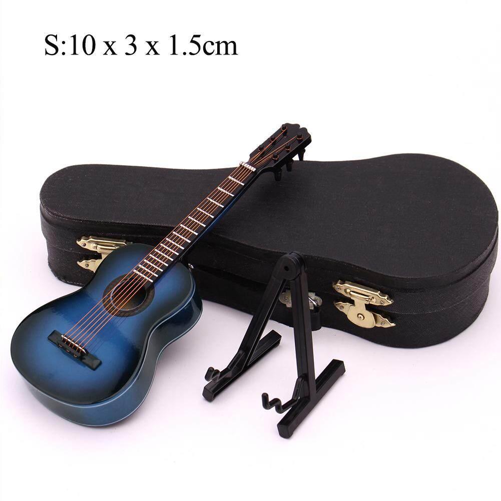 【Hàng Có Sẵn】Guitar Mini Mô Hình Thu Nhỏ Đàn Guitar Cổ Điển Thu Nhỏ Nhạc Cụ Mini Bằng Gỗ Bộ Sưu Tập Mô Hình