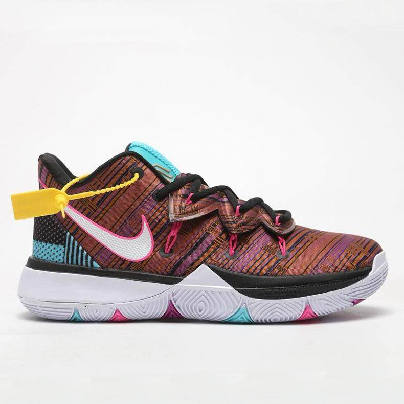 NIKE___Kyrie_ 5 CONCEPTS TV Men's Basketball Shoes Sneakers Air Permeability, Wear Resistance and Stability of Indoor and Outdoor Basketball Shoes