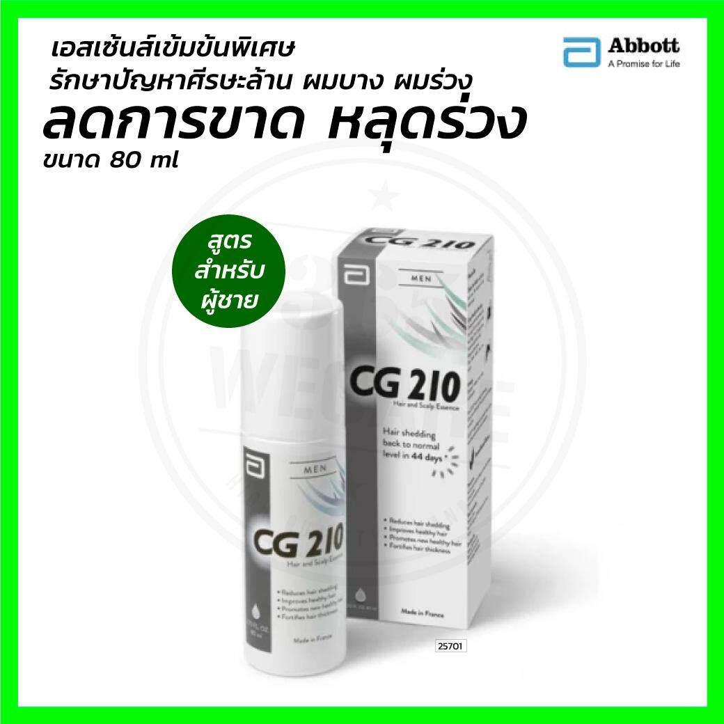 ราคาพิเศษ CG210 Anti-Hair Loss Men 80 ml. 365wecare