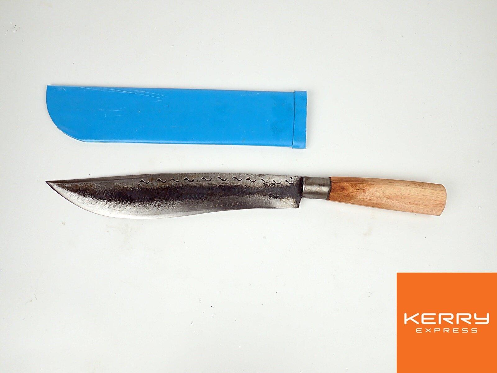 มีดพก 11 นิ้ว ปอกพีวีซี ด้ามไม้